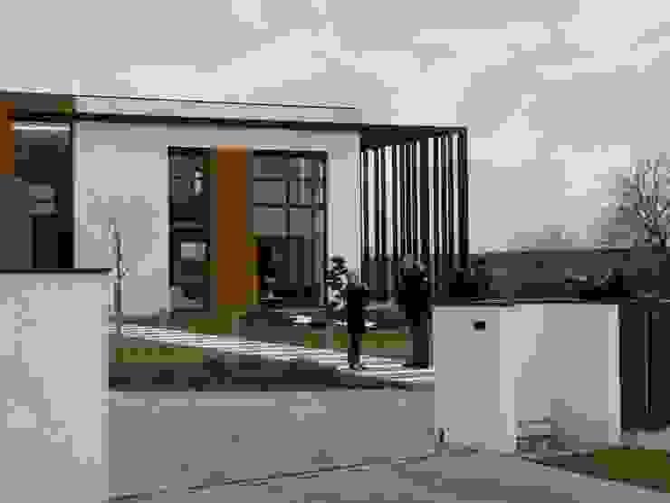 pendant le tournage de la Maison France 5 Maisons minimalistes par Emilie Bigorne, architecte d'intérieur CFAI Minimaliste