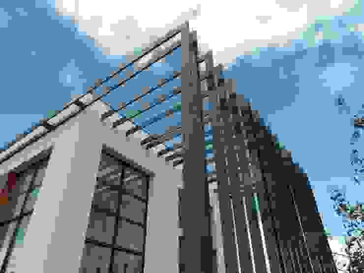 claustra extérieur Maisons minimalistes par Emilie Bigorne, architecte d'intérieur CFAI Minimaliste