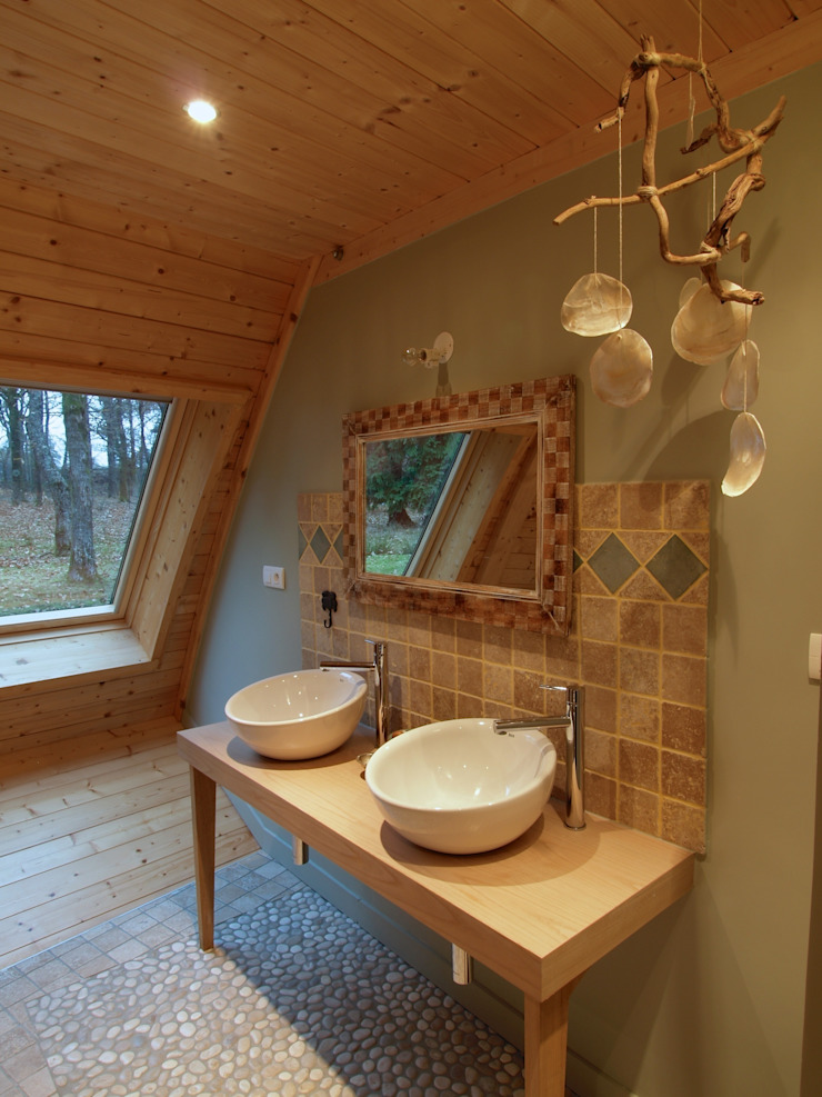 Дома Ванная комната в стиле модерн от DOMESPACE VOSTOK Модерн
