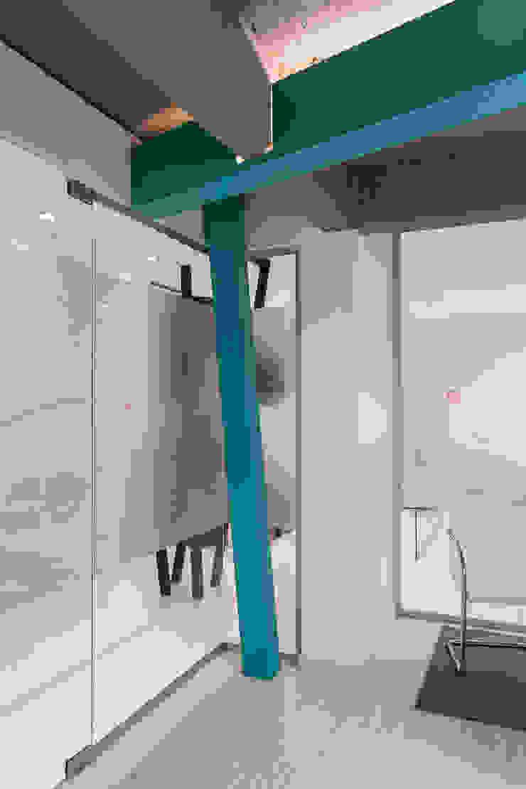 Estudio Sespede Arquitectos Office spaces & stores Glass Turquoise