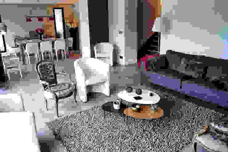 Maison de Ville Croissy sur Seine Yvelines Salon moderne par B by Lulea Moderne