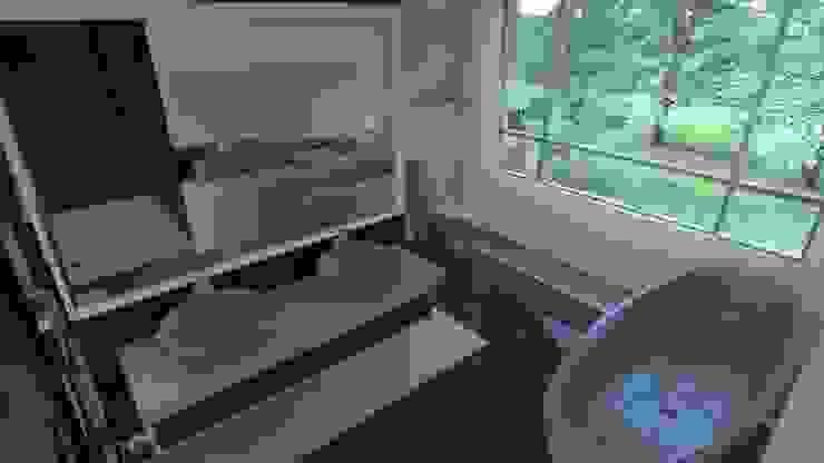 ванная Ванная комната в стиле минимализм от 3designik Минимализм