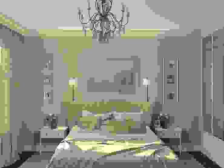 спальня Спальня в стиле модерн от 3designik Модерн