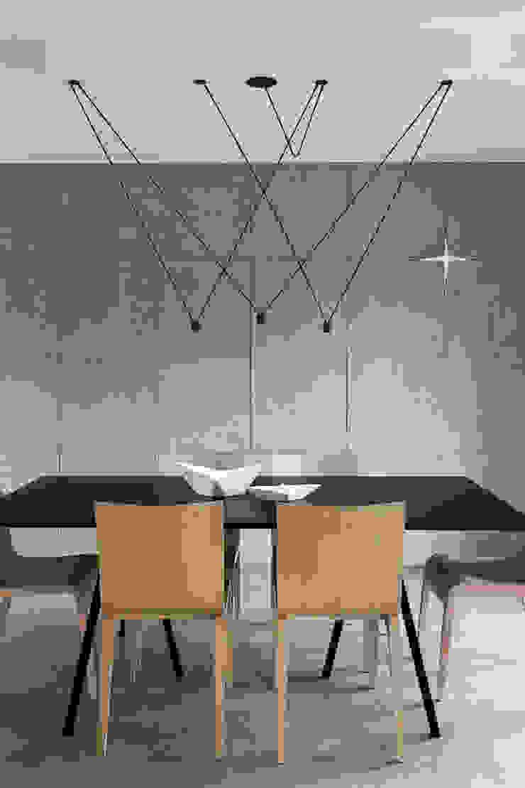 miniszyk Minimalist dining room by unikat:lab Minimalist
