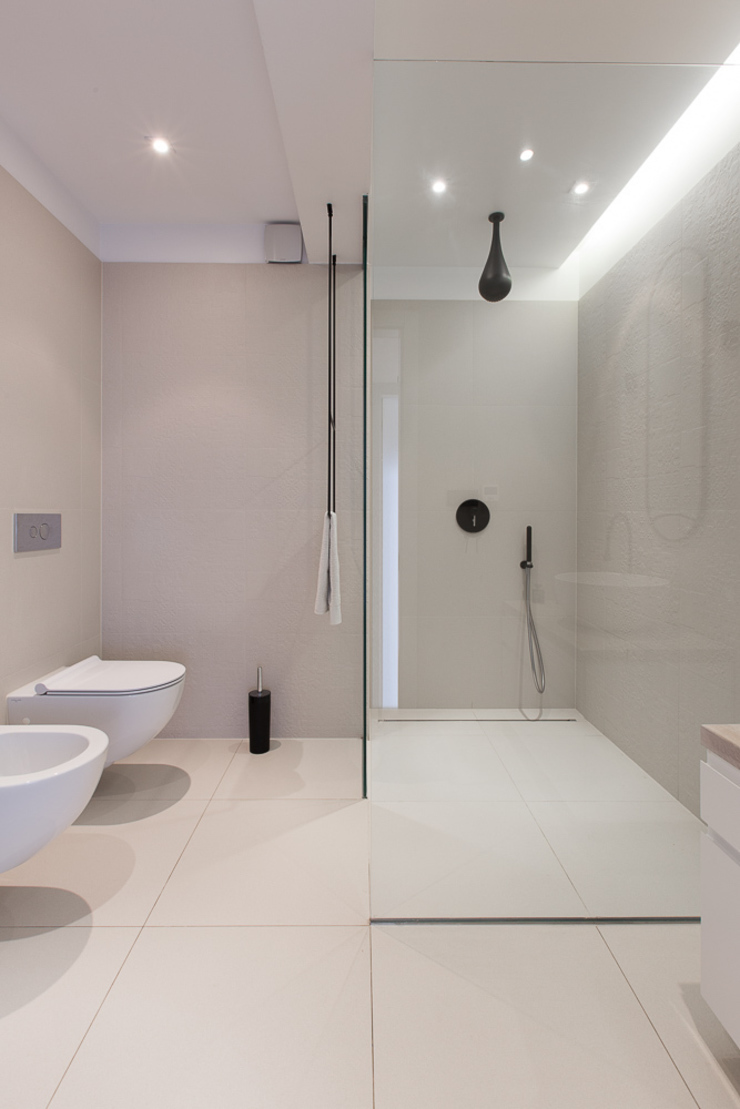 miniszyk Minimalist style bathrooms by unikat:lab Minimalist