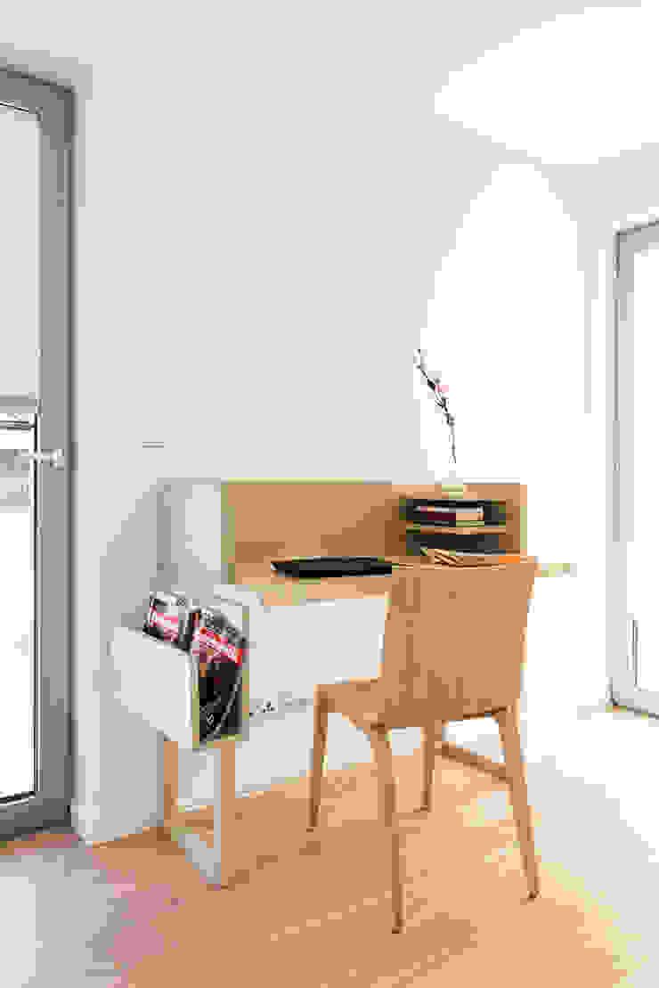 miniszyk Minimalist bedroom by unikat:lab Minimalist