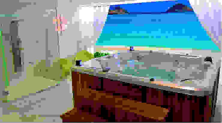 NEW LINE AQUA SPA Baños modernos de AQUA SPA Moderno Fibra natural Beige