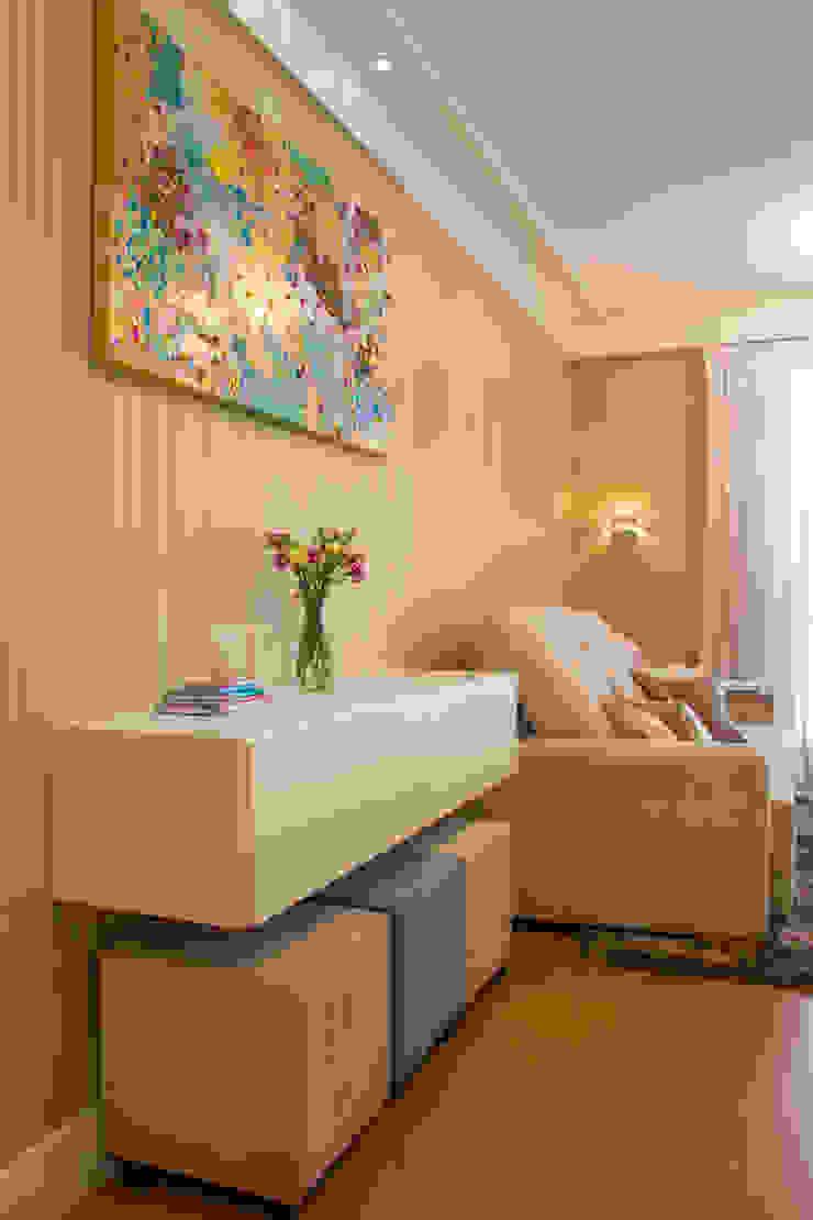 Apartamento Grécia Salas de estar modernas por Camila Chalon Arquitetura Moderno