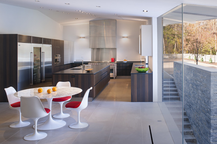 Difficult Run Residence Robert Gurney Architect Modern style kitchen