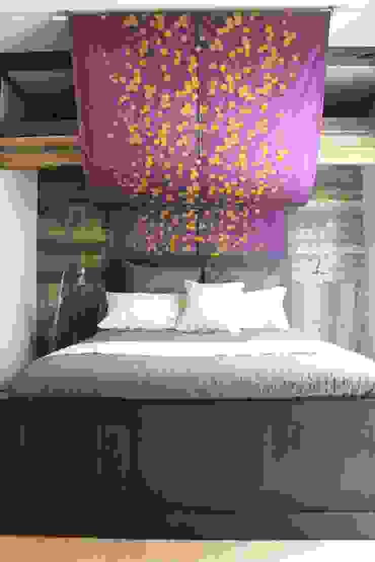 主寝室 after写真: 一級建築士事務所 iie designが手掛けた素朴なです。,ラスティック