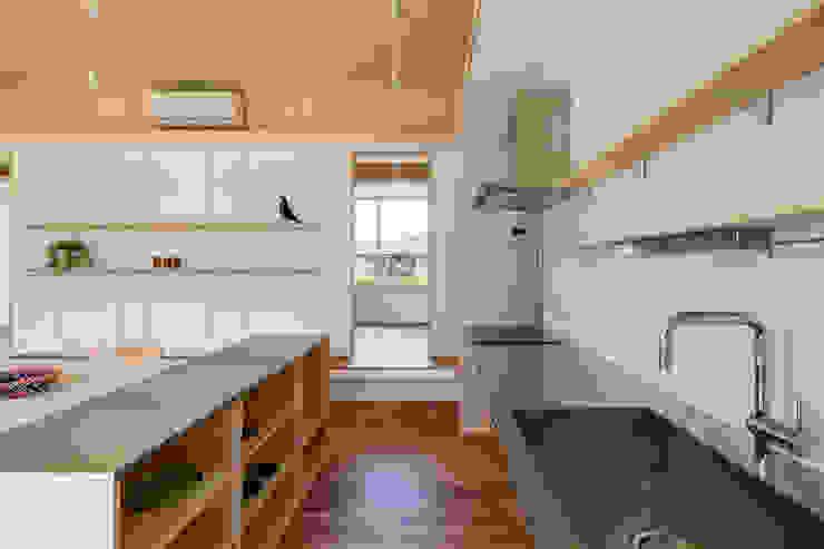 House in Hashie オリジナルデザインの キッチン の 矢内建築計画 一級建築士事務所 オリジナル