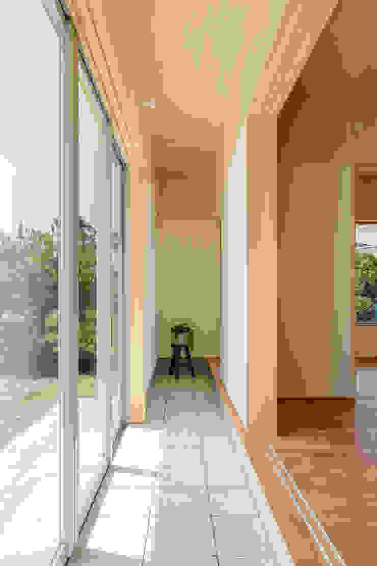 House in Hashie オリジナルな 壁&床 の 矢内建築計画 一級建築士事務所 オリジナル