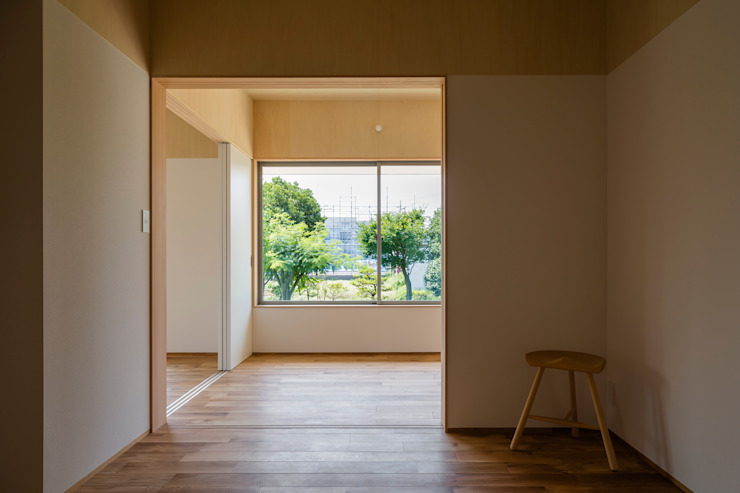House in Hashie オリジナルスタイルの 寝室 の 矢内建築計画 一級建築士事務所 オリジナル