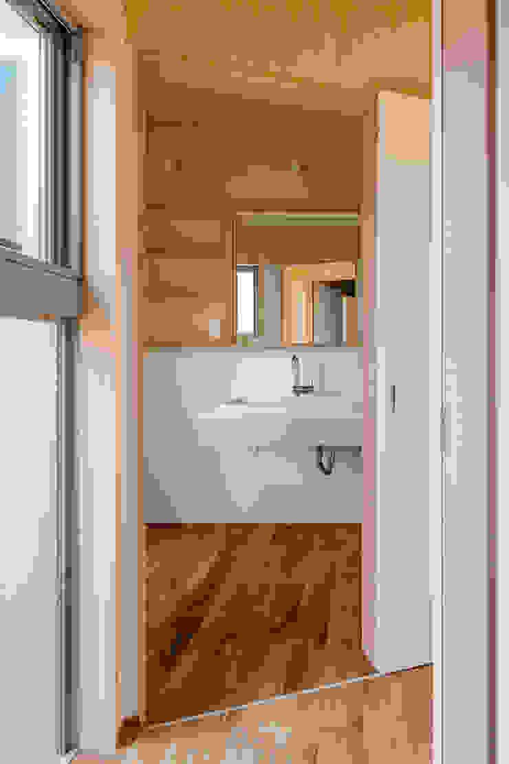 House in Hashie オリジナルスタイルの お風呂 の 矢内建築計画 一級建築士事務所 オリジナル