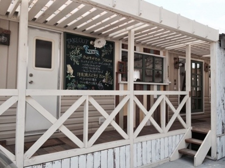 カフェ ウッドデッキ オリジナルなレストラン の 有限会社 八幡工業 ナチュラワイズ オリジナル