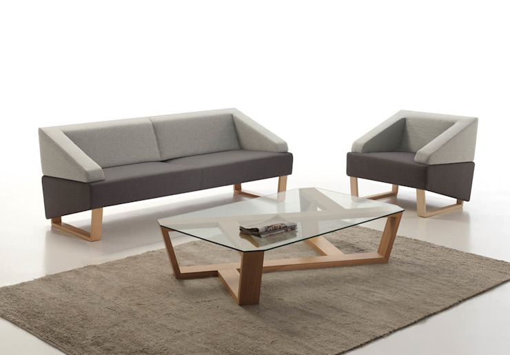 LOOK sofá y butaca de BELTÁ & FRAJUMAR Minimalista