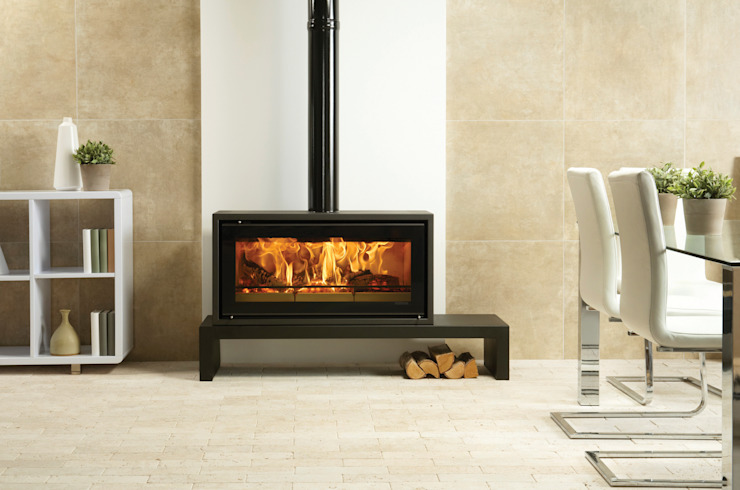 Riva Studio 2 Freestanding Stovax Heating Group SalasChimeneas y accesorios
