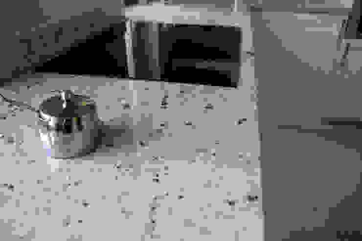 Blat z granitu Colonial White Klasyczna kuchnia od GRANMAR Borowa Góra - granit, marmur, konglomerat kwarcowy Klasyczny