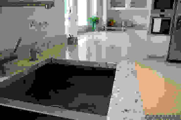 Zlew podwieszany do blatu kuchennego Klasyczna kuchnia od GRANMAR Borowa Góra - granit, marmur, konglomerat kwarcowy Klasyczny