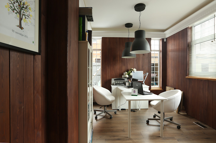 ORT-interiors Eclectic style study/office