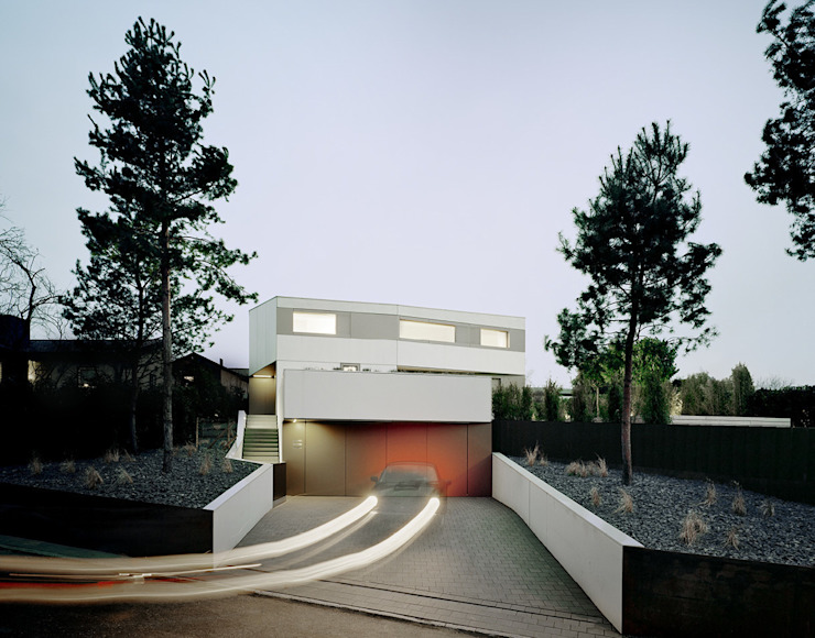 منازل تنفيذ steimle architekten, تبسيطي