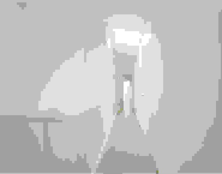 S3 CITYVILLA Minimalistischer Flur, Diele & Treppenhaus von steimle architekten Minimalistisch