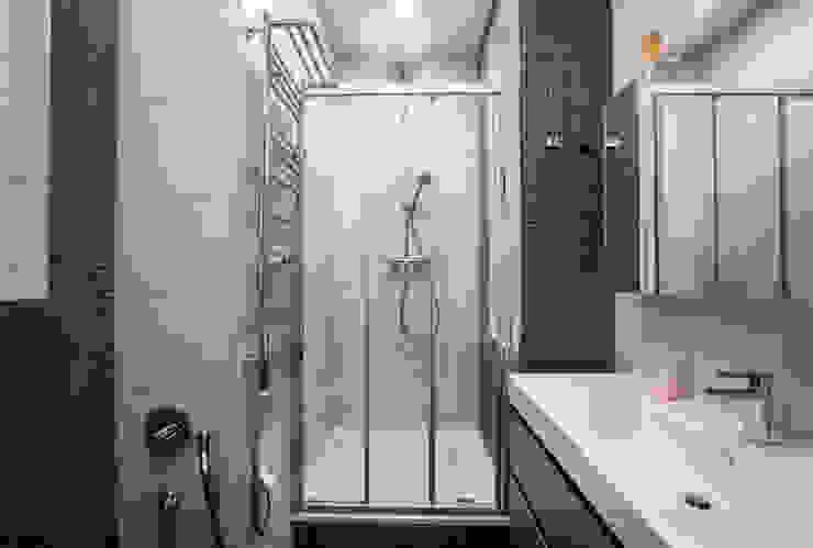 Ванная комната при спальне Ванная комната в стиле минимализм от ORT-interiors Минимализм