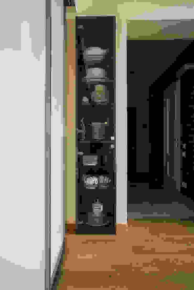 Стеллаж Гостиная в стиле минимализм от ORT-interiors Минимализм