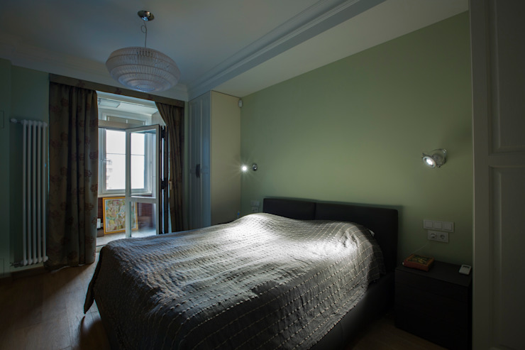 Спальня Спальня в эклектичном стиле от ORT-interiors Эклектичный