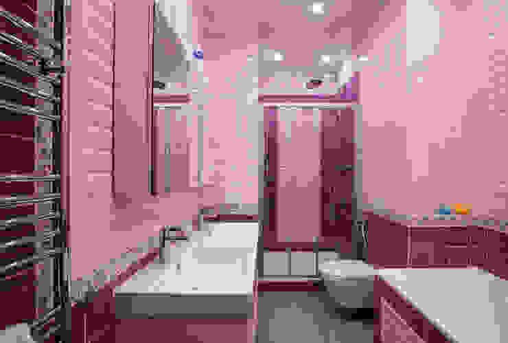 Детская ванная комната Ванная комната в эклектичном стиле от ORT-interiors Эклектичный