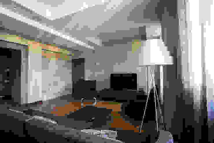 Гостиная Гостиная в стиле минимализм от ORT-interiors Минимализм