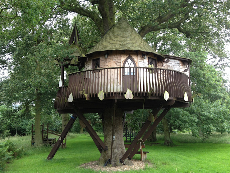 Large treehouse の High Life Treehouses