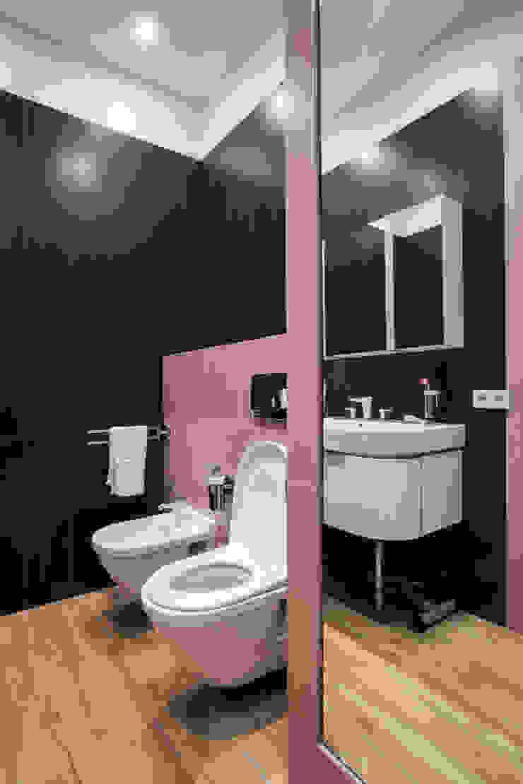 Санузел при спальне Ванная комната в стиле минимализм от ORT-interiors Минимализм