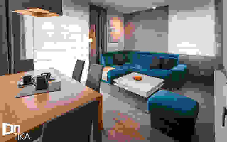 Wnętrze domu, Bestwina: styl , w kategorii Salon zaprojektowany przez TIKA DESIGN,Nowoczesny