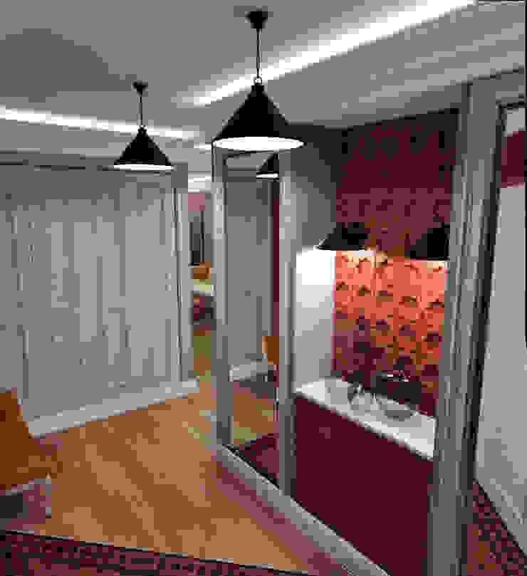 Eclectische gangen, hallen & trappenhuizen van Сидорова Юлия Eclectisch
