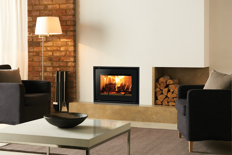 Riva Studio Edge+ Stovax Heating Group Living roomFireplaces & accessories