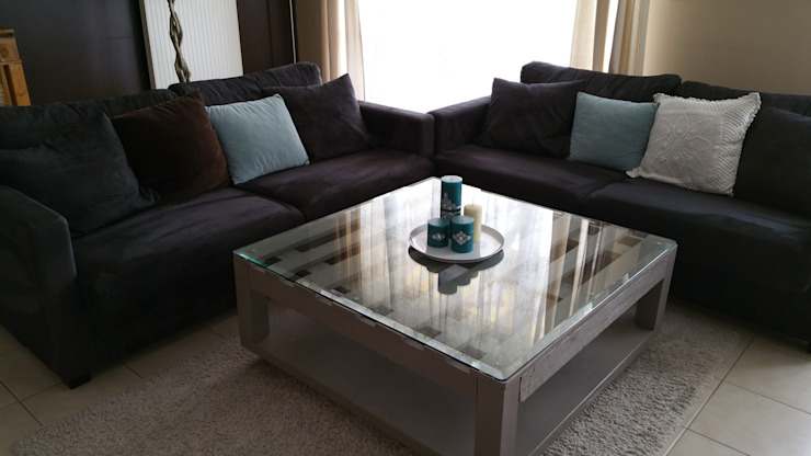 Grande table basse par L'Atelier Zora Éclectique