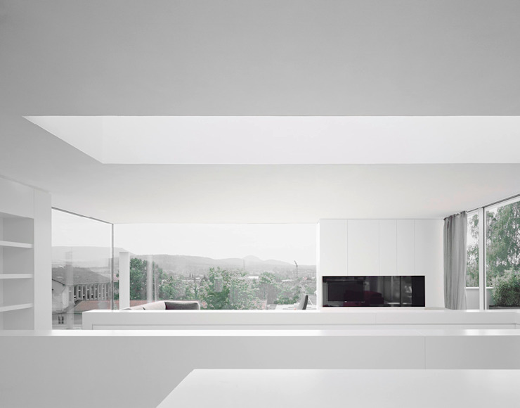 Moderne woonkamers van steimle architekten Modern