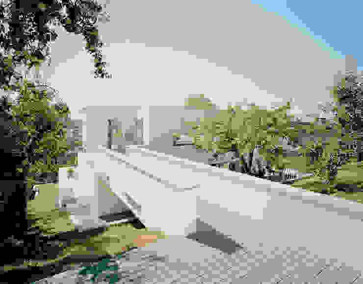 EM 35 CITYVILLA Moderner Balkon, Veranda & Terrasse von steimle architekten Modern