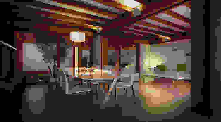 Salas de estar modernas por 3dforme Moderno