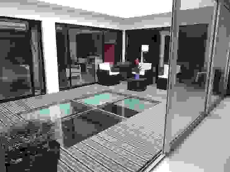 Projekty,  Ogród zimowy zaprojektowane przez fffff,