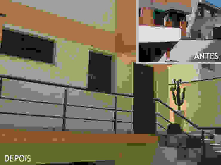 Entrada - escada Projetual Arquitetura