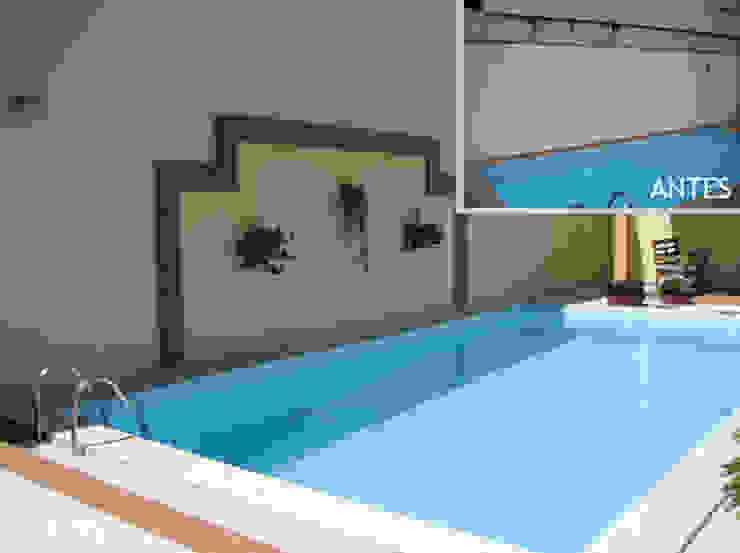 Muro piscina Projetual Arquitetura