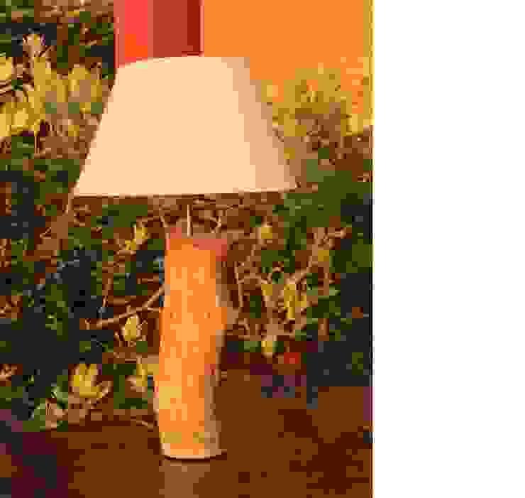 Lámpara Roble Animal de Buena Pieza (Objetos decorativos) Rural