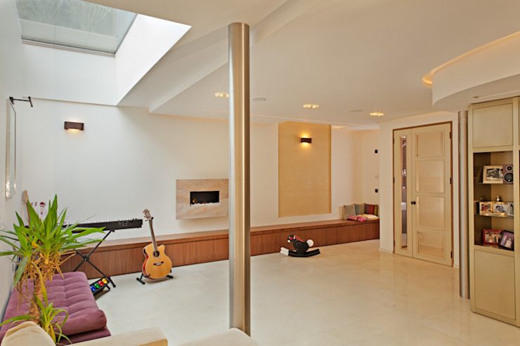 Hampstead P1, NW3 XUL Architecture Modern living room