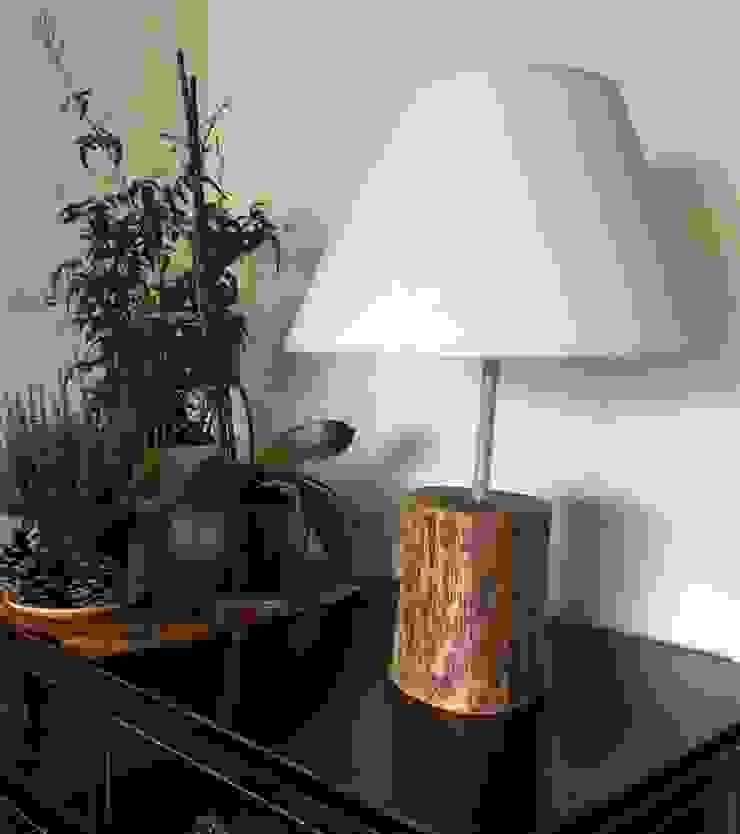Lámpara Chata de Buena Pieza (Objetos decorativos) Rústico