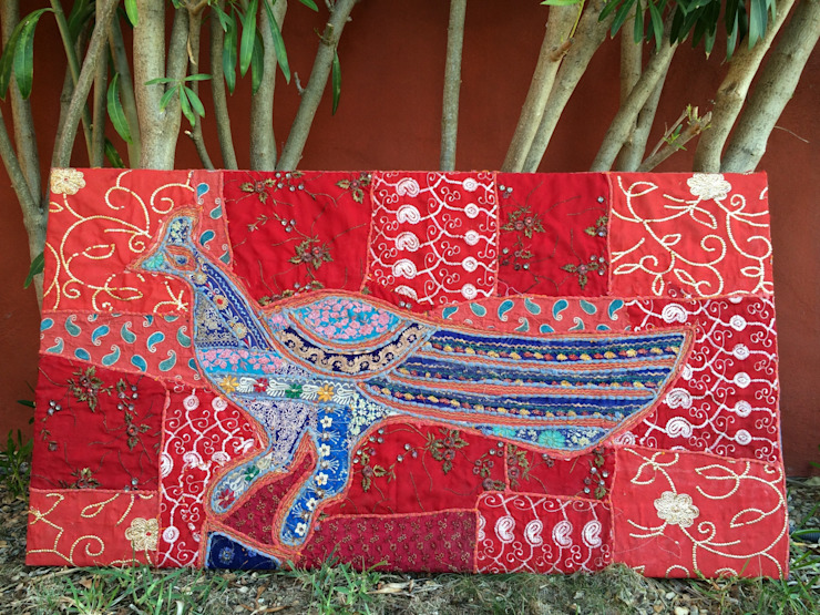 Tapiz Pájaro de Buena Pieza (Objetos decorativos) Asiático