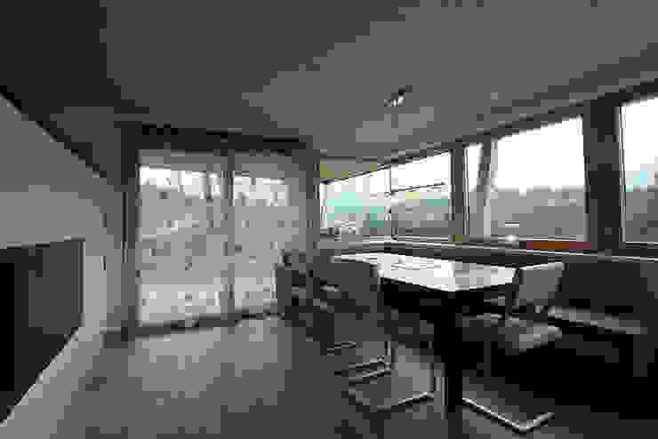 Einfamilienhaus TR Minimalistische Esszimmer von architekt stöckl michael zt gmbh Minimalistisch