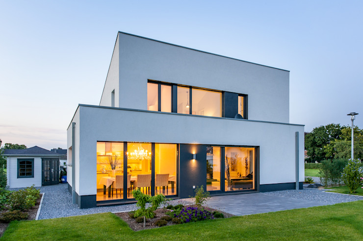 Case in stile minimalista di Architektur Jansen Minimalista