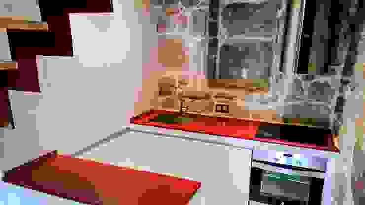 Cuisine minimaliste par KM Arquitectos Minimaliste